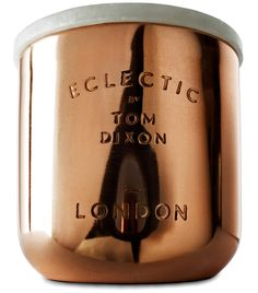 tom dixon scented candle | eclectic collection
