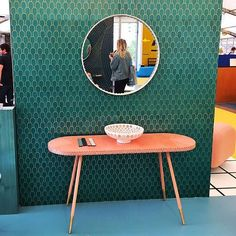 #Repost: @becky_sunshine  I really like the new #KingsCross home of @thedesignjunction. Lots to see (and buy!), but I loved @bethangray's new #Shamsian collection of marquetry pieces inlaid with brass inspired by a trip to Oman. Made in collaboration with the Iranian artist #MohamadRezaShamsian, the workmanship is wonderful and her colours are delicious. #BethanGray #designjunction #LDF16 #design #interiors #home #marquetry #wood #brass #london #oman #craftmanship #furniture #nizwafort #djkx