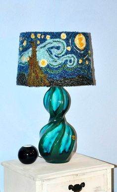 One of my favorite a Starry Night Lamp Shade Van Gogh Lamp Shade