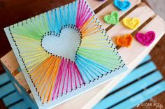 String art projects are all the rage in the crafting world right now. We love that Sugar Bee Crafts takes a kid friendly approach to this vibrant heart DIY craft, offering tips and tricks for…