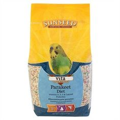 BIRD - FOOD: SEEDS & PELLETS - VITA PARAKEET - 2.5LB - Vitakraft Sun Seed, Inc - UPC: 87535330123 - DEPT: BIRD PRODUCTS