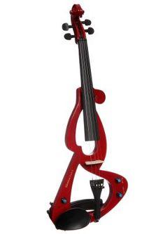 Elektrische Violine, »E-Violine mit Zubehör«, MSA.Diese E-Violine ist das perfekte Instrument für Beginner, Könner und Wiedereinsteiger. Durch den mitgelieferten Kopfhörer kann man sich den Ton direkt auf die Ohren legen, ohne Familie oder Mitbewohner zu stören. Mit dem Volume-Regler am Instrument kann man die Lautstärke anpassen, über den Tone-Regler kann der Klang den persönlichen Vorlieben angepasst werden und der Klinken-Anschluss sorgt dafür, dass man das Instrument auch an einem…