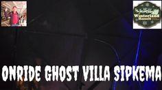 Onride Met Vasthangen in de  Ghost Villa Sipkema @ Winterland Hasselt