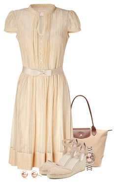 """""""Untitled #1741"""" by superswede ❤ liked on Polyvore featuring Lauren Conrad, Loren Stewart, Blue Nile, Giallo, Longchamp, Collette By Collette Dinnigan, Rolex and Adrianna Papell"""