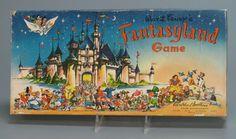 110.13639: Walt Disney's Fantasyland Game | board game