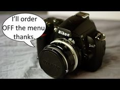 Introduction to the Nikon D40, Video 8 of 12 (Shooting Menu) - YouTube