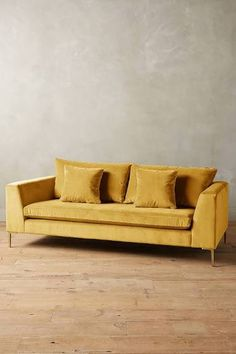mustard sectional sofa