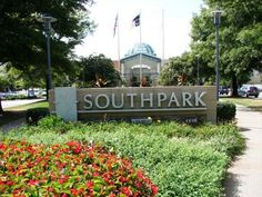 Stop in SouthPark Mall, Charlotte NC - One of the southeast's premier shopping experiences!  Nordstroms to Neiman Marcus and everything in between--you're sure to find everything you need and then some!