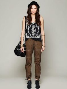 Free People Washed Parachute Pant - STYLED SO WELL though