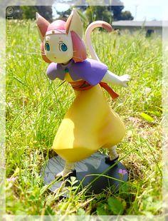 #BraveStory figures from #Kotobukiya. This one is Mina (Meena) from the movie based on the novel of the same name by #MiyukiMiyabe.