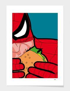 The Secret Life of Heroes. Pop Art Illustrations by Grégoire Guillemin Art And Illustration, Art Illustrations, Comic Art, Comic Kunst, Bd Pop Art, Tableau Pop Art, Illustrator, Art Series, Poster Series