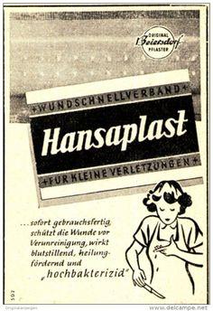 Original-Werbung/ Anzeige 1950 - HANSAPLAST - ca. 45 x 65 mm