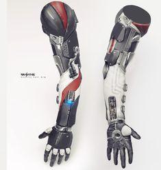 ArtStation - Gravity Suit Armor Concept, Mario Stabile