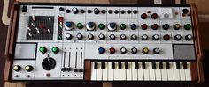 MATRIXSYNTH: EMS SYNTHI Prototype Keyboard Owned by YES