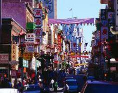 Chinatown - San Francisco California USA