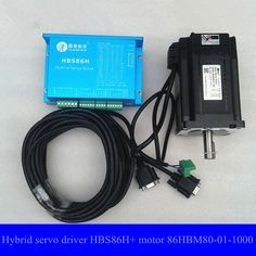 249.90$  Buy now - http://alihir.worldwells.pw/go.php?t=32428890761 - Leadshine Easy Servo Products CNC system Hybrid servo system HBS86H driver and Hybrid servo motor 86HBM80-01-1000