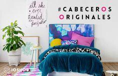 Cabeceros originales. Post blog ioshop www.ioshop.es #cabeceros