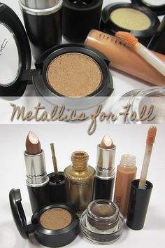 Metallic Makeup for Fall from MAC Cosmetics Indulge Collection