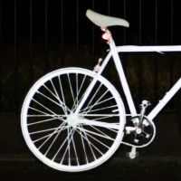 An Invisible Spray-On Paint to Keep Bikers Safe at Night