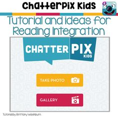 Try ChatterPix Kids to Integrate Reading and Technology