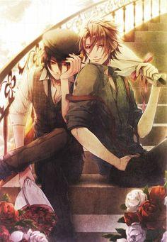 Amnesia: Shin and Toma.
