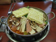 Korean Food_Budae-jjigae=Sausage Stew