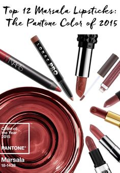 Fall is the best time to wear this gorgeous color of the year!! Check out our picks for the best Marsala lipsticks: http://blog.pampadour.com/marsala-lipsticks-color-2015/  #pampadour #pantone #marsala #lipstick #beauty