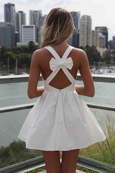 cute fashion backless dress with bow Dress With Bow, Dress Me Up, Dress Girl, Fancy Dress, Pretty Dresses, Beautiful Dresses, Gorgeous Dress, Bow Dresses, Sexy Dresses