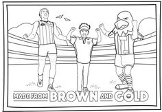 afl colouring pages - Google Search
