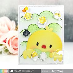 Hello and welcome to the first Mama Elephant's February release Stamp Highlight. Card Tags, I Card, Mama Elephant Stamps, Holiday Images, Spring Projects, Interactive Cards, Easter Art, Bunny Crafts, Mft Stamps