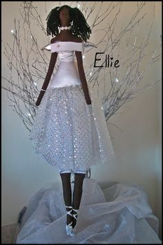 ANGEL DELIGHTS TILDA style Princess Diva Angels Hand by judy4pets