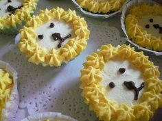 Lemony Lion Cheesecakes by Cin's favourites, via Flickr