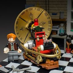 """Classic LEGO Time Machine - Closeup 