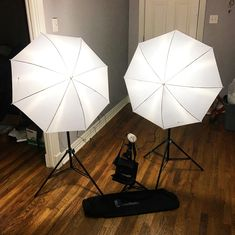 Best Umbrella Lighting    Umbrella lighting is an indirect lighting technique. You can use white umbrellas to soften the light shining on a subject or black and silver umbrellas to brighten the light. #vlogging #youtube #youtubers White Umbrella, Best Umbrella, Vlogging Equipment, Indirect Lighting, Lighting Techniques, Cool Lighting, White Light, Videos, Umbrellas