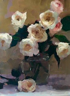 "The Paintings of Dennis Perrin..""'Patience w/ Juliet 2"" oil 16"" X ""12"