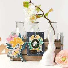 Crate Paper | Decorative Hang Tags #cratepaper #easterdecoration