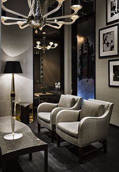 really love the grey chairs. i could see this in the nice living room