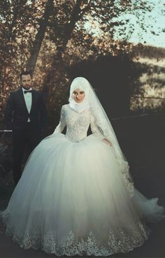 So nice bride with hijab ;)