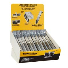 Valley View Industries Metal Stakes (4-Pack)-MSD-50 - The Home Depot