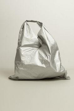 MM6 Maison Martin Margiela silver bag from SS13 collection