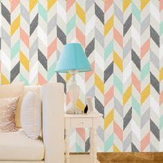 Papel de parede adesivo colors - StickDecor   Decoração Criativa