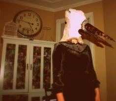 Bird Mask By Rebekah Barter