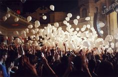 It'd be fun to release a balloon filled with your wish for the new year written down in it. Family tradition?