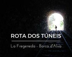 ROTA DOS TÚNEIS (La Fregeneda a Barca d'Alva)   Portugal e Espanha Portugal, Movies, Movie Posters, Railings, Spain, Line, Traveling, Places To Visit, Films