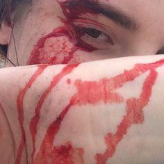 """i am mclovin! Emo, Grunge, The Rocky Horror Picture Show, Donnie Darko, Greek Gods, American Horror Story, Oblivion, Supernatural, Blood"