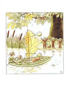 Elsa Beskow - Woody, Hazel and Little Pip - Floris Books