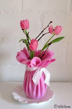 Tulpen + Filz