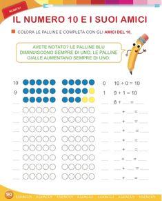 Matita e gomma 1 - Matematica Preschool Art Activities, Classroom Management, Problem Solving, Homeschool, Luigi, Book, English, Homeschooling