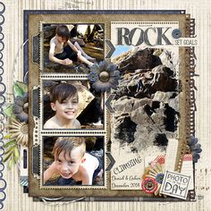 Created with The Important Things (Collection) by Kimerick Kreations @ TDC and her FB freebie template. #kimerickreations, #thedigichick, #digitalscrapping