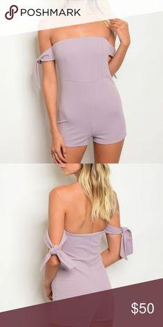 ca8ca49b1c27 Lavender Purple Romper Lavender Purple Romper Country  USA Fabric Content   96% POLYESTER 4